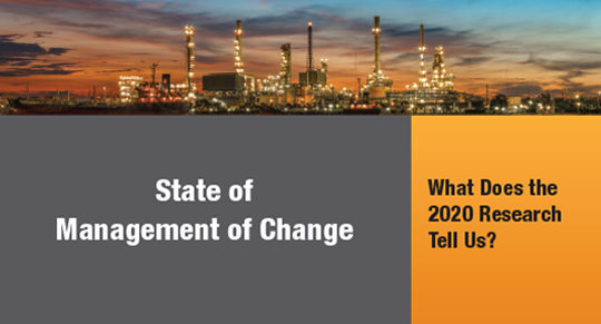 state of management of change white paper